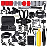 MRMASS 52-in-1 Accessories Kit for AKASO EK5000 EK7000 4K WiFi DJI OSMO Action Camera Gopro Hero 7 6 Hero 5