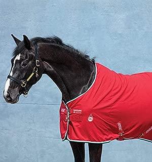 Horseware Ireland Amigo Stable Sheet, Red/White/Green/Black, 81