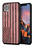 YFWOOD Compatible for iPhone 11 Pro Max Case Wood,Natural Slim Eleghant Wooden Protective Cover Unique Wood Shockproof Drop Proof Bumper Protection Cover for iPhone 11 Pro Max 6.5 inch