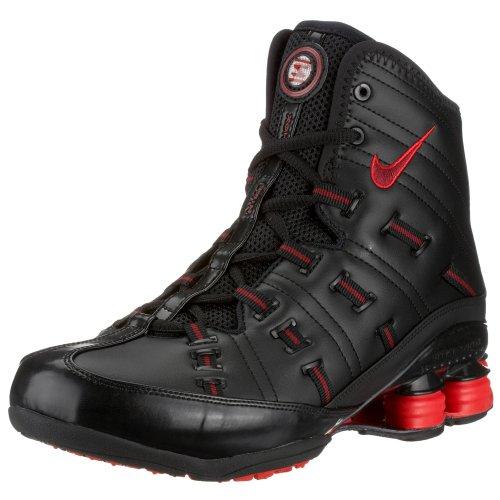 Nike - Zapatillas de Material Sintético para Mujer Negro Black/Team Red