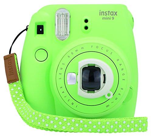 Fujifilm Instax Mini 9 - Cámara instantánea, Cámara con 1x10 películas, Verde