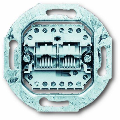 Busch-Jaeger 215 BUSC ISDN-Dose 0215 2-8/8(8/8) polig