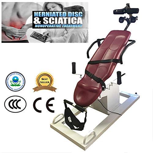 KY Panca Inversione Piegabile Elettrico Invertito Macchina Home Fitness Attrezzature Collo Lombare Intervertebrale Disc Prominence A Testa in Giù Stretching