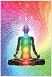 Close Up The Seven Chakras Poster Meditation (93x62 cm)