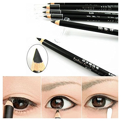 Eyeliner Potlood, 2 Stks Hot Koop Cosmetische Mode Schoonheid Make-up Tool Gladde Waterdichte Eyeliner Potlood Pen
