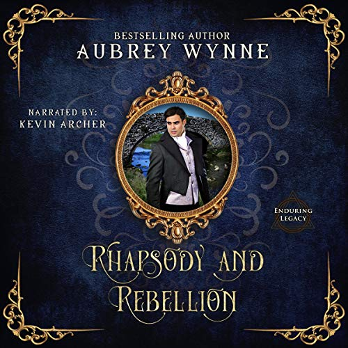 Rhapsody and Rebellion audiobook cover art