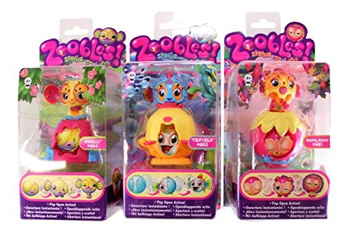 Zoobles Spring To Life! Single Pack