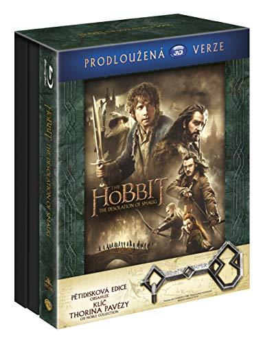 Hobit: Smakova draci poust - prodlouzena verze 5BD (3D+2D) Klic Ereboru / The Hobbit: The Desolation of Smaug - Extended Edition (Tschechische Version)