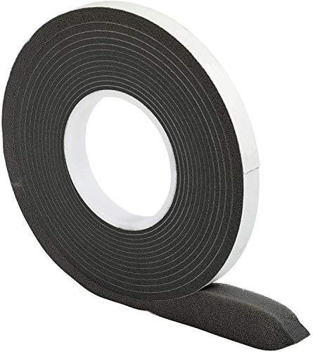 Komprimierband 10/2 │ anthrazit │ 1 Stück │ 12,5 m lang │ Rollenbreite: 10 mm, Fugenbreite: 2-5 mm │ Fugendichtband │ Quellband
