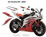 Kit completo de pegatinas Yamaha R6 desde 2006.