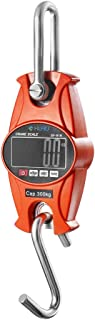 Digital Scale,Klau 300 kg / 600 lb SF-918 Postal Scales Industrial Heavy Duty Crane Scale Orange for Home Farm Hunting
