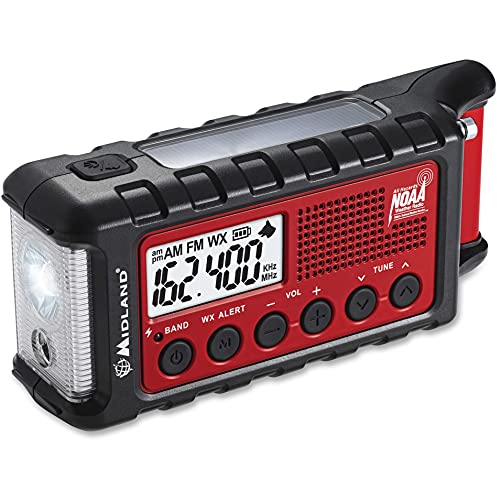 Survival Crank Radio With Multiple Power Sources By Midland