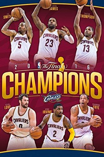 2016 NBA Finals - Champions Laminato Stampa Poster 60,96 x 91,44 cm)