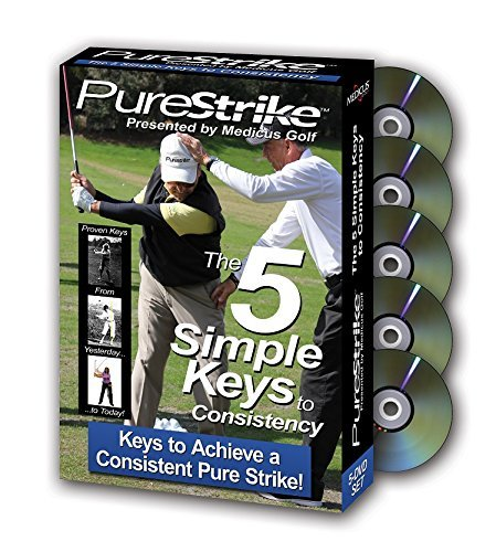 Pure Strike The 5 Simple Keys to Consistency 5 DVD Collection by Medicus