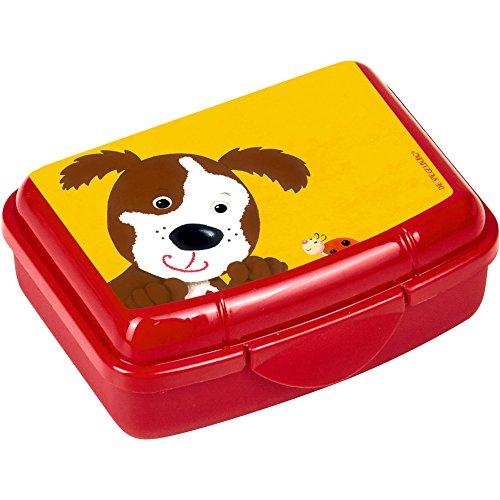 Spiegelburg 14736 Mini-Snackbox Hund Freche Rasselbande