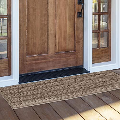 NICETOWN Non-Slip Bathroom Rugs for Dogs, Dog Door Mat, Soft Plush...