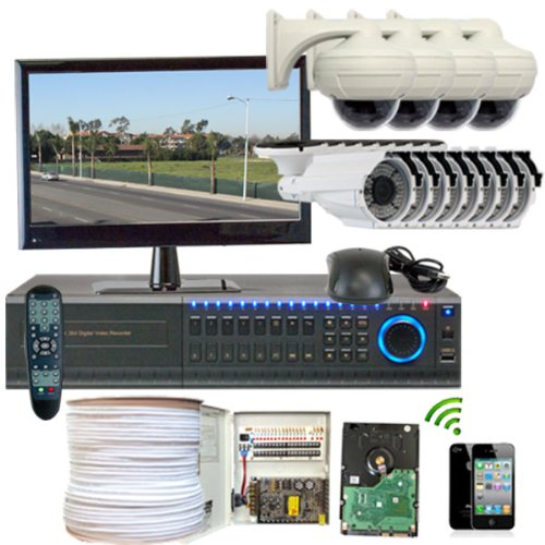 Why Should You Buy GW Security Inc 12CHH2 High Definition HD-SDI 16 Channel DVR with 4 x 2.1 Megapix...