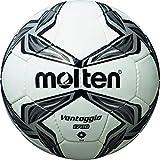 molten, Pallone da calcio, Bianco (Weiß/Silber), 4...
