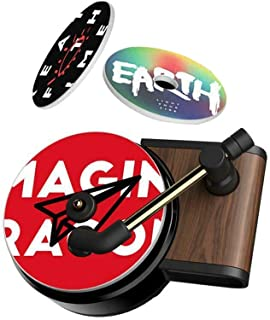 Sponsored Ad - Car Air Diffusers Freshener,Car Aromatherapy Essential Oil Diffuser Vent Clip,Record Player Car Decor