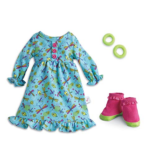 American Girl WellieWishers Fantastic Firefly PJs Doll Outfit