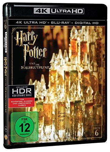 Harry Potter und der Halbblutprinz (4K Ultra HD + 2D-Blu-ray) (2-Disc Version)