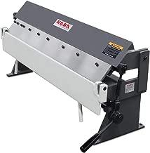 KAKA Industrial Pan and Box Brake, High Precision, Easy Adjustment Sheet Metal Box Pan Brake, 20 Gauges Sheet Metal Brake (36