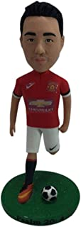 Soccer Bobble Head Personalizzato Soccer Cake Topper Regalo personalizzato Soccer Regalo fidanzato Soccer Regalo di Natale...