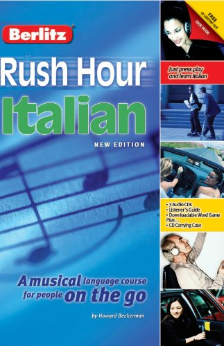 Rush Hour Italian audiobook cover art