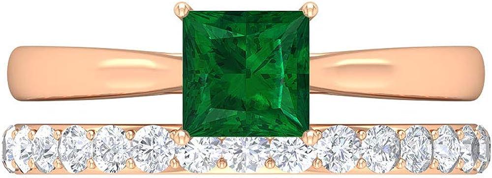 6X8 Columbus Mall MM Octagon Cut Emerald Ring Solitaire Moissanite D-VSSI Ete San Jose Mall
