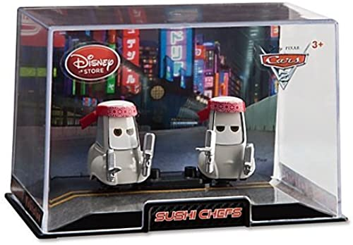 Disney Cars 2 Sushi Chefs Cars 2 Die Cast Car Set -- 2-Pc. 1 48 by Disney