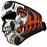 Astra Depot 2 In 1 Reversible Warm Black Tribal Classic Skull Neoprene...