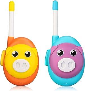 Retevis RB616 Walkie-Talkie voor Kinderen 1-kanaals Cartoonstijl Gebruiksvriendelijk Speelgoed voor Jongens en Meisjes Wal...