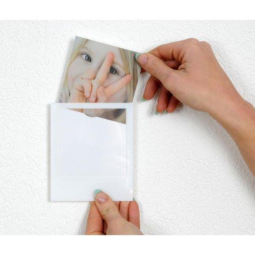 HAB & GUT -FRPOLA-V8- POLAFRAMES Selbstklebende Bilderrahmen im Polaroid-Look, 8er Set
