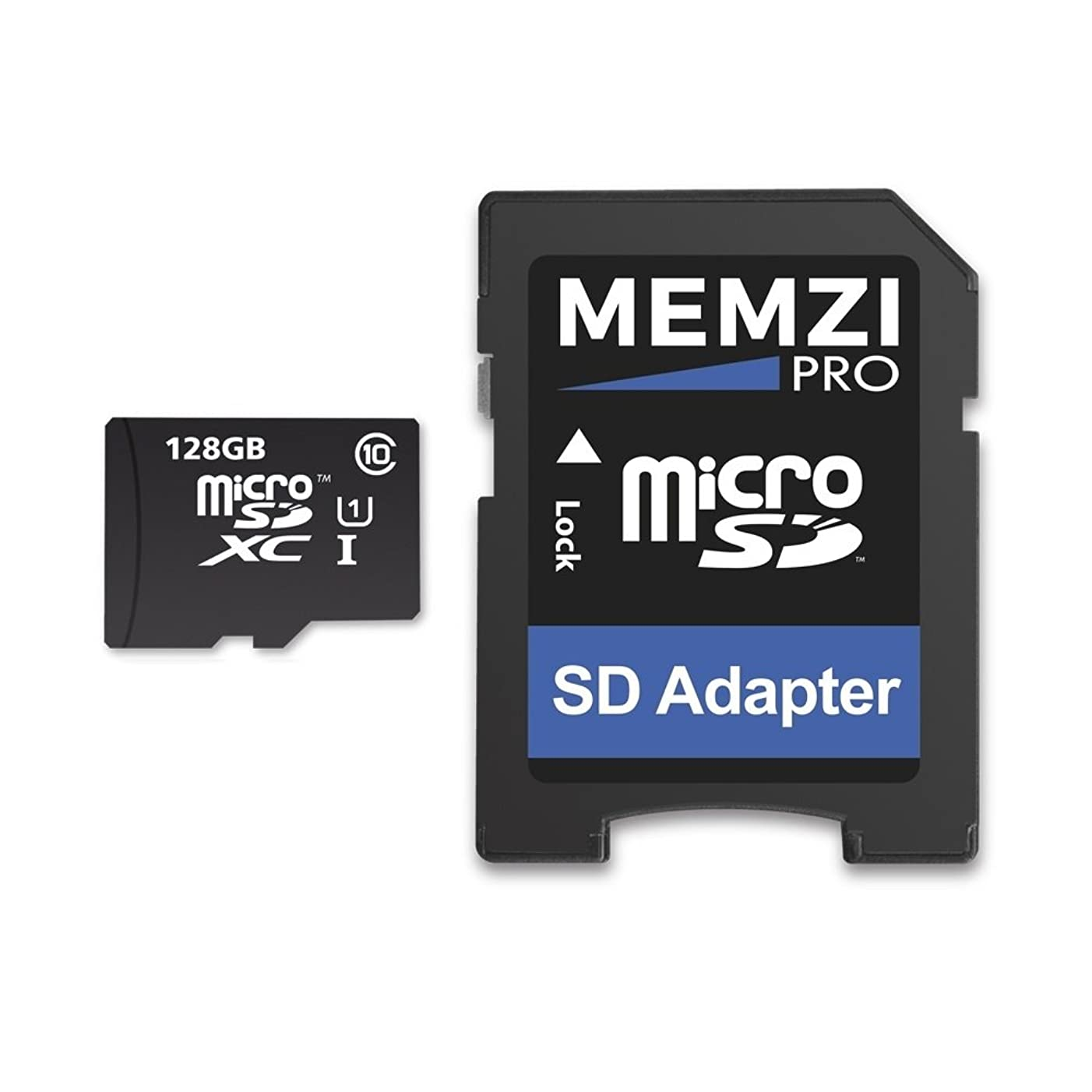 MEMZI PRO 128GB Class 10 80MB/s Micro SDXC Memory Card with SD Adapter for Nintendo Switch Console