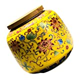 YARNOW Tee Kanister Keramik Tee Lagerung Container Lebensmittel Lagerung Gläser für Kaffee Bean...