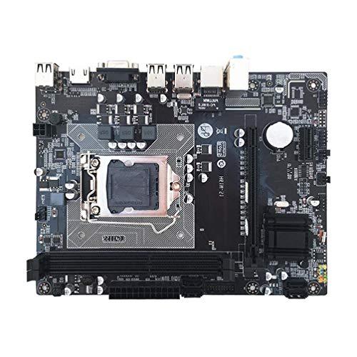 Jilin H61M C Placa mãe para computador desktop 1155 pinos interface de CPU DDR3 placa mãe Intel