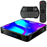 TV Box Android10.0 4GB RAM 64GB ROM Set Top...