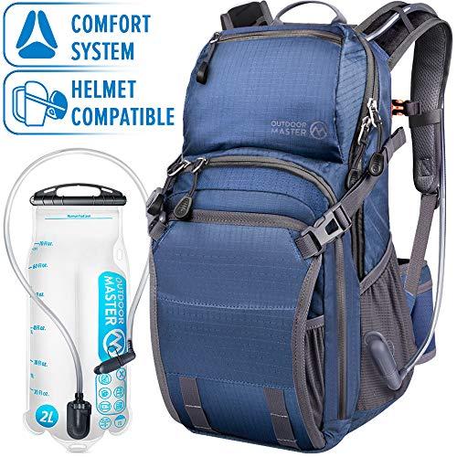 OutdoorMaster 25L HYDROBACK Hydration Backpack - 2L BPA Free Bladder | Large Volume, Ultra...