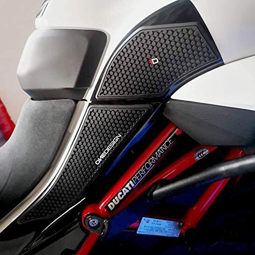 Seitenschutzaufkleber für Ducati_MULTISTRADA_ 1200 und 1260 Schwarz