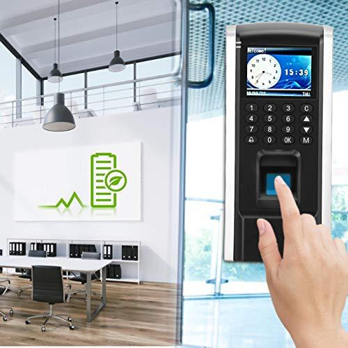 SALALIS Control de Acceso del Control de Acceso del Control de Acceso de la Pantalla a Color de Tft LCD RFID, para Wiegand26