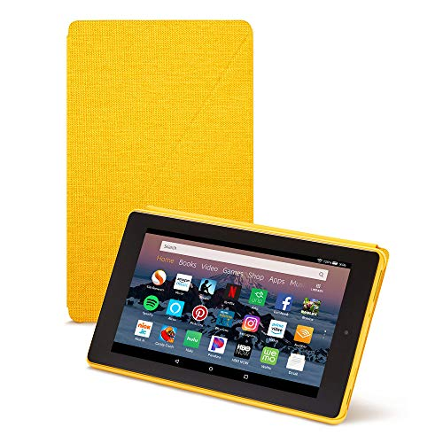 Amazon Fire HD 8 Tablet Case (Compatible with 7th and 8th Generation Tablets, 2017 and 2018 Releases), Canary Yellow