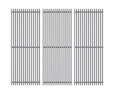 Htanch SF4103(3-Pack) Stainless Steel Cooking Grid Grates Replacement for Charmglow Gas Grill Model 810-8410-F; Charmglow 810-8410-F; Charmglow Models: 810-8410-F