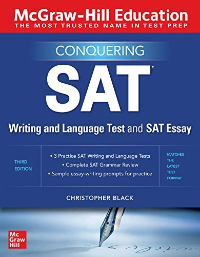 Conquering the SAT Writing and Language Test and SAT Essay, 3rd Edition Front Cover