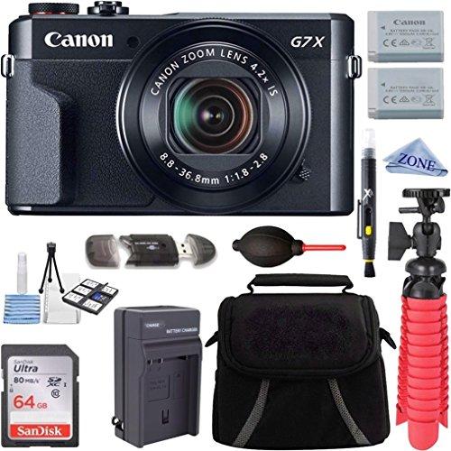 Canon PowerShot G7 X Mark II 20.1MP 4.2X...