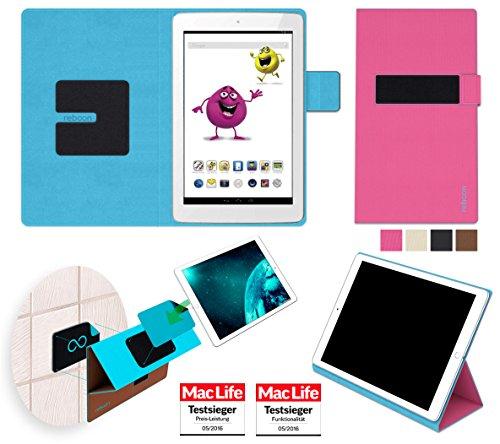 Hülle für Odys Junior Tab 8 Pro Tasche Cover Hülle Bumper   in Pink   Testsieger