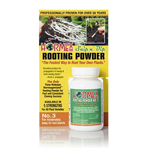 Hormex Rooting Hormone Powder #3 | for Moderately Easy to...