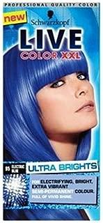 Schwarzkopf Live Color Xxl Ultra Brights 95 Electric Blue Semi-Permanent Blue Hair Dye