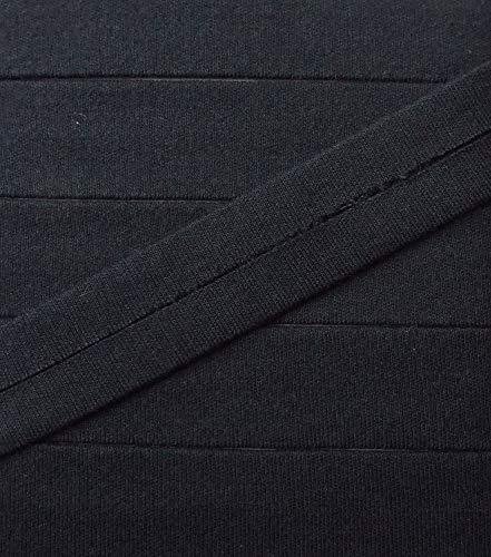 3 m Jersey Einfassband Trikot elastisch 20 mm vorgefalzt marine
