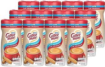 Nestle Coffee mate Coffee Creamer, Original Lite, Non Dairy Powder Creamer, 11 Ounces (Pack of 12)