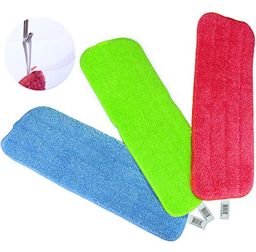 Reveal Mop Cleaning Pads Fit All Spray Mops & Reveal Mops Washable (15.5 * 5.5inch, 3PCS)